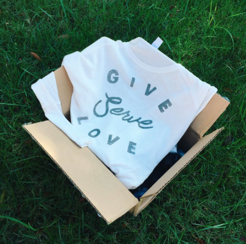 Have we mentioned how excited we are for #BeRich17? Here is a little sneak peak at one of the new #GiveServeLove products that will be available to purchase at most of our local campuses soon...be on the lookout to get yours!!!