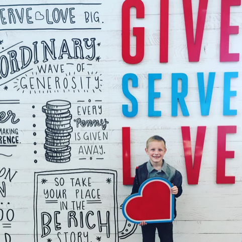 amytaftduke Give. Serve. Love. #berich