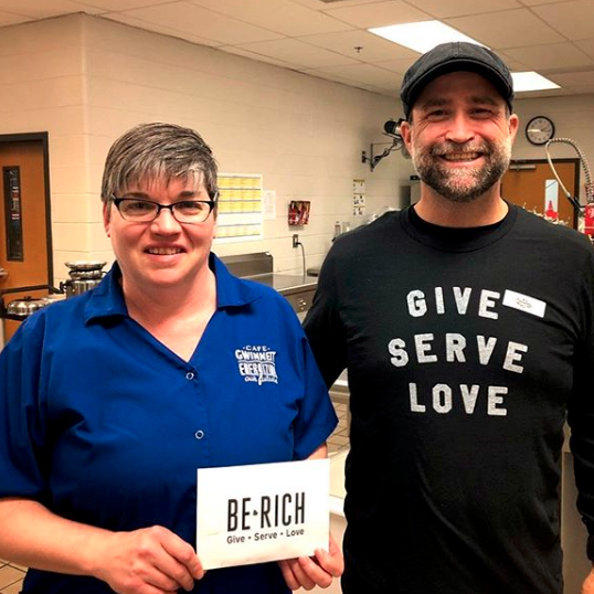 takethebrownpill So humbled that I get to lead with people like Corey. His men's group raised enough money to pay off the school lunch debt at Burnette Elementary School! ???? #BeRich #ForGwinnett #GiveServeLove #GCMen #changetheworld